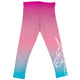 Unicorn Name Pink and Turquoise Degrade Leggings - Wimziy&Co.