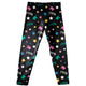 Unicorn And Name Print Black Leggings - Wimziy&Co.