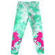 Unicorns White And Green Leggings - Wimziy&Co.