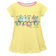 Birds Name Yellow Short Sleeve Laurie Top - Wimziy&Co.
