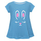 Bunny Name Light Blue Short Sleeve Tee Shirt - Wimziy&Co.