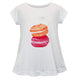 Macarons Name White Short Sleeve Laurie Top - Wimziy&Co.
