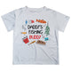 Daddys Fishing Buddy White Short Sleeve Tee Shirt - Wimziy&Co.