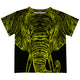 Elephant Black Short Sleeve Tee Shirt - Wimziy&Co.