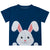 Happy Bunny Name Navy Short Sleeve Tee Shirt - Wimziy&Co.