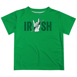 Irish Green Short Sleeve Tee Shirt - Wimziy&Co.