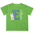 Bunny Initial and Name Green Short Sleeve Tee Shirt - Wimziy&Co.