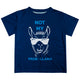Navy 'Not my probllama' boys tee shirt