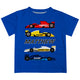 Raicing Cars Name Royal Short Sleeve Tee Shirt