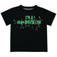 Sham Rockstar Black Short Sleeve Boys Tee Shirt - Wimziy&Co.