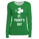 I Love St Paddy´s Day Green Long Sleeve Tee Shirt - Wimziy&Co.