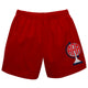 Rotating World Map Monogram Red Boys Pull On Short - Wimziy&Co.