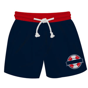 Nautical Name Navy Swimtrunk - Wimziy&Co.