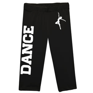 Black and white dance girls leggings