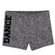 Gray glitter dance girls dance shorts - Wimziy&Co.