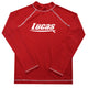 Surf Table Name Red Long Sleeve Rash Guard - Wimziy&Co.