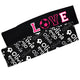 Love Soccer Name Print Black Headband Set - Wimziy&Co.