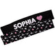 Black and pink personalized gymnastics head band set - Wimziy&Co.
