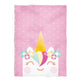 Happy unicorn name pink blanket minky blanket - Wimziy&Co.