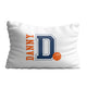 Baketball initial and name pillow case - Wimziy&Co.