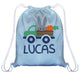 Bunny Truck Name Light Blue Easter Bag - Wimziy&Co.