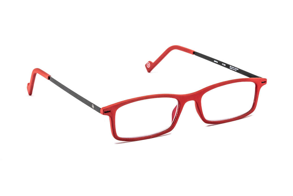 Side view of the Sm@rt Yacc ready reading glasses