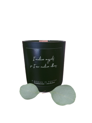 Frankincense + Eucalyptus Intention Candle