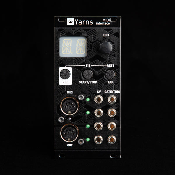 Mutable Instruments Yarns MIDI Interface (Black Aluminum)