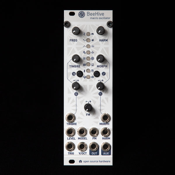Beehive Micro Mutable Instruments Plaits (Off-White Aluminum)