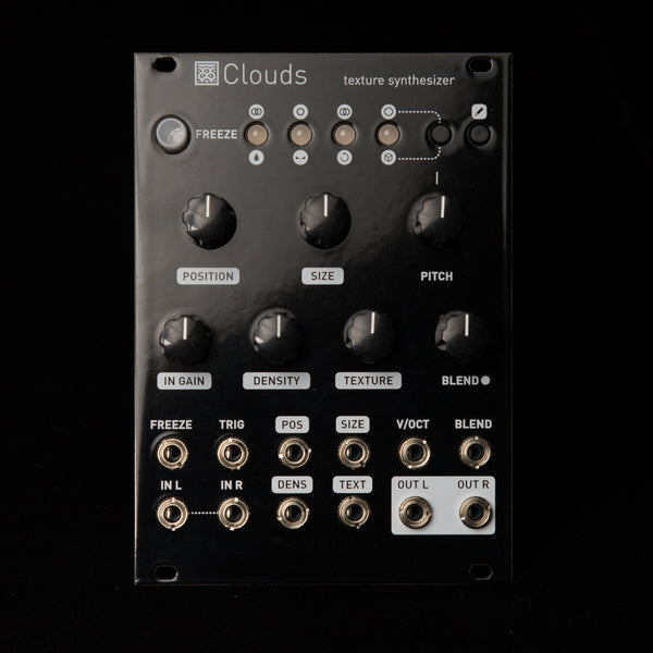 Mutable Instruments Clouds (Gloss Black Aluminum)