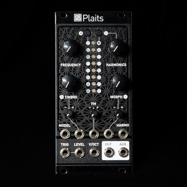 Mutable Instruments Plaits (Black Textured Aluminum)
