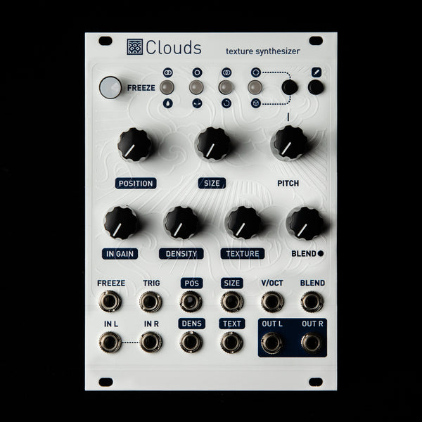 Mutable Instruments Clouds (White Textured Magpie)