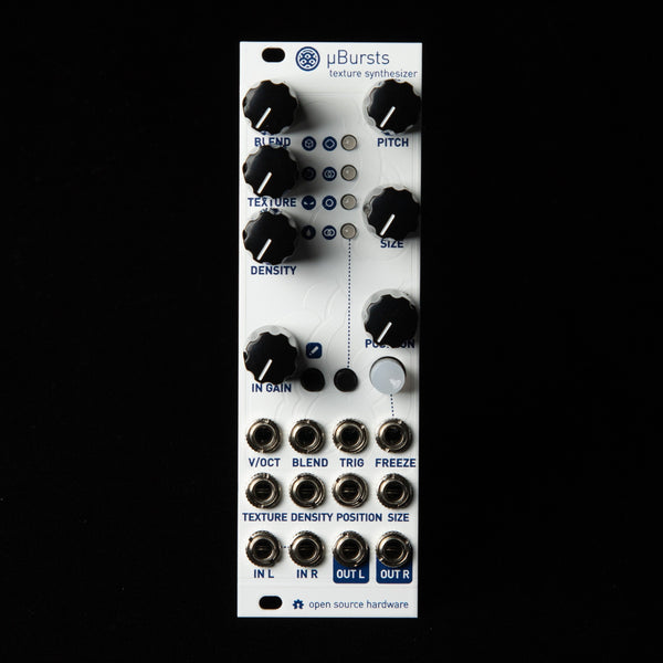 uBurst Micro Mutable Instruments Clouds (White Textured Aluminum)