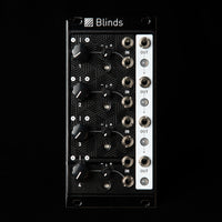 Mutable Instruments Blinds Polarizer/VCA Eurorack Synth Module (Black Textured)