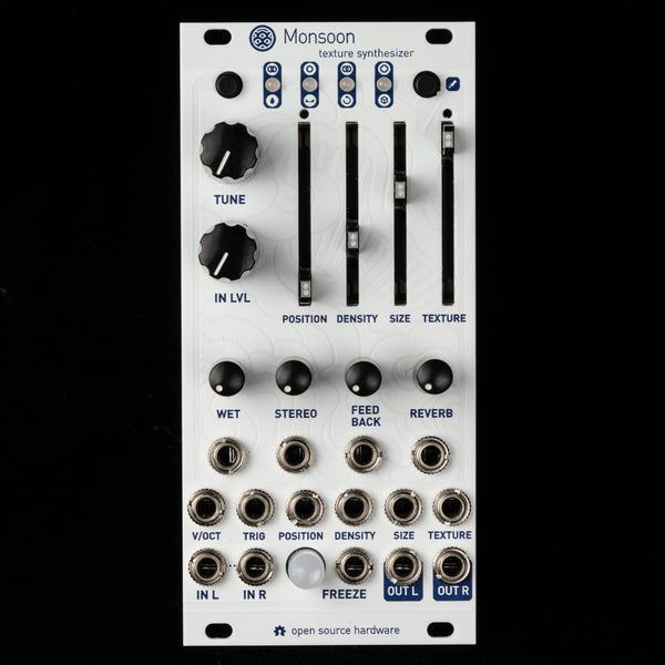 Monsoon (uBurst+) Expanded Mutable Instruments Clouds (White Textured Aluminum)