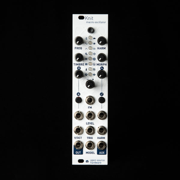 Antumbra Knit (uPlaits) Micro Mutable Instruments Plaits (White Textured)