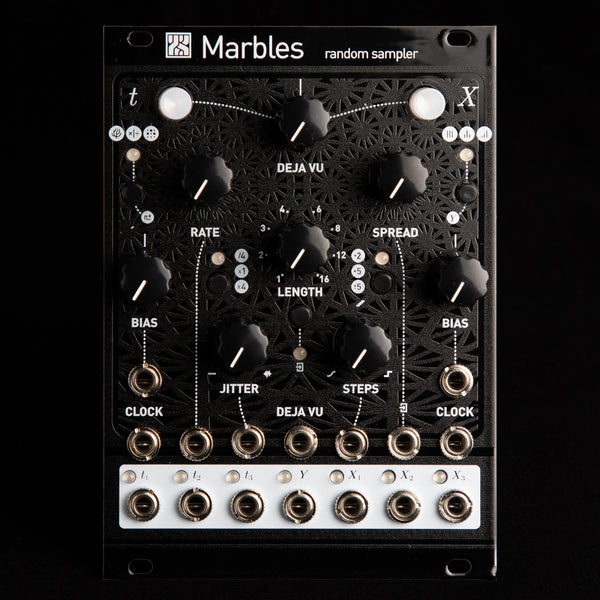 Mutable Instruments Marbles (Black Textured Magpie)