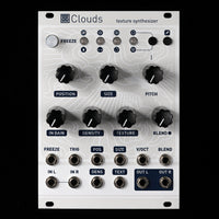 Mutable Instruments Clouds Eurorack Synthesizer Module (Off-White Aluminum)