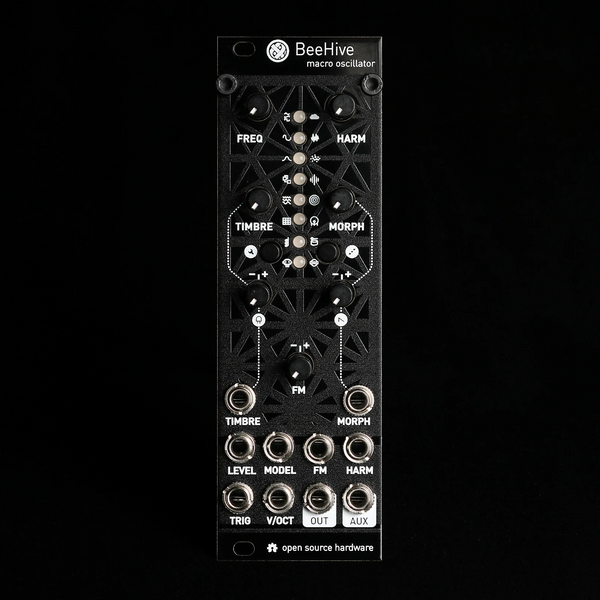 Beehive Micro Mutable Instruments Plaits (Black Aluminum)