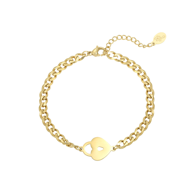 Locked heart Bracelet