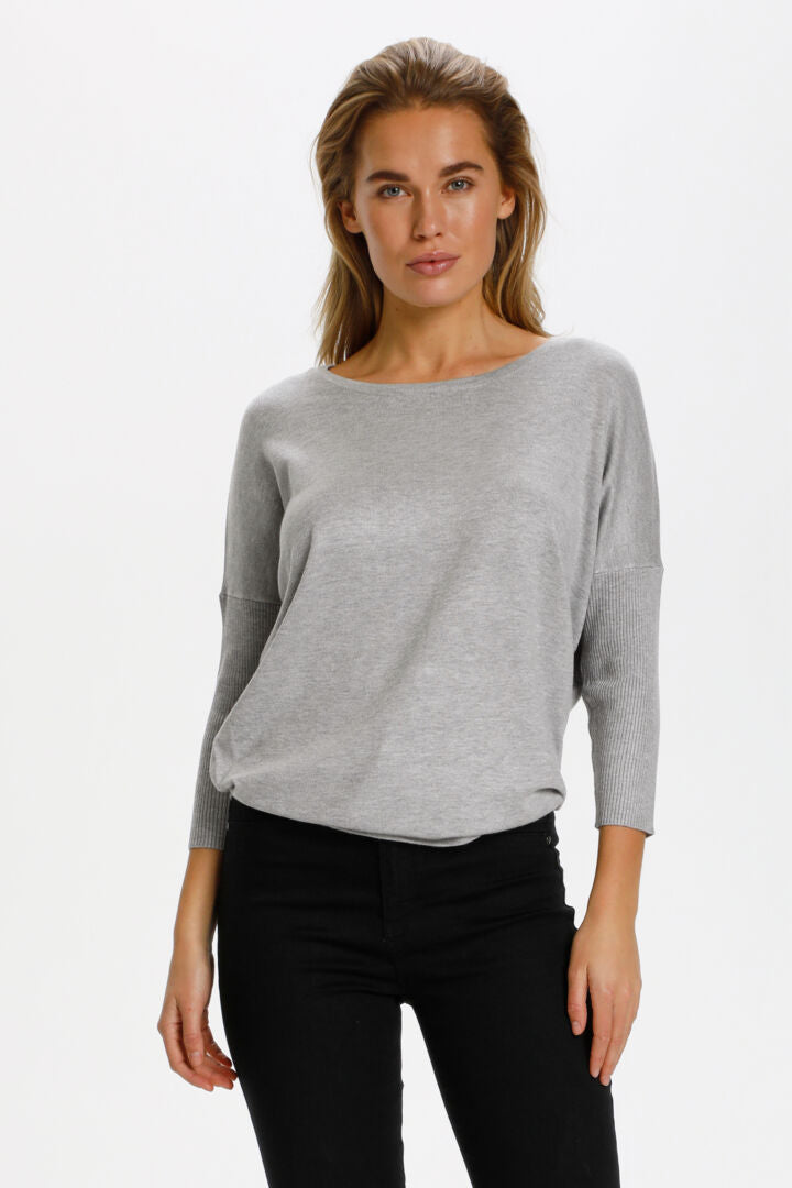Favorite viscose top Pearl Grey