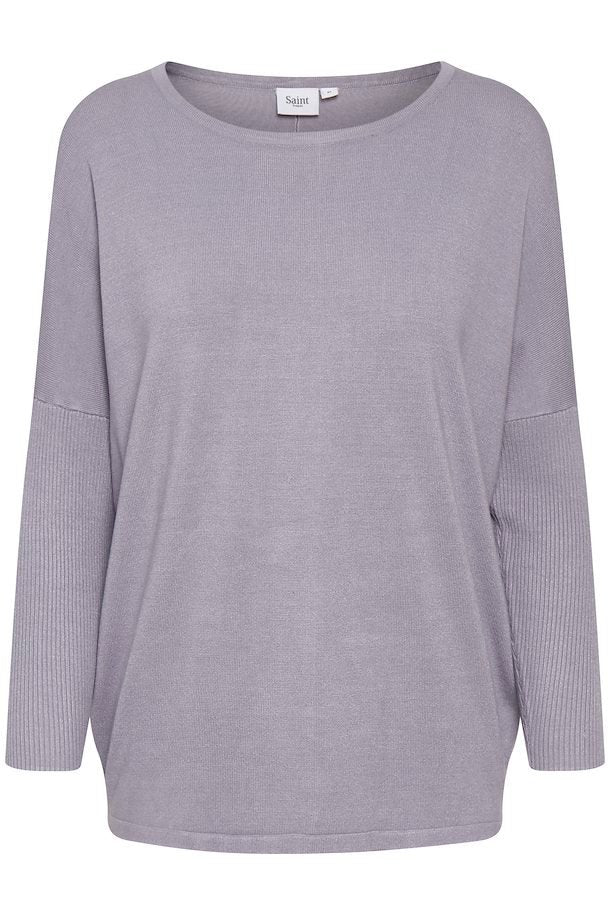 New favorite Viscose top Purple Grey