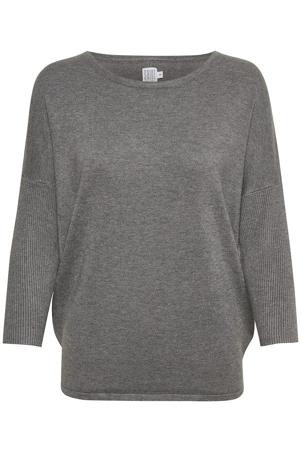 Viscose top Dark Grey