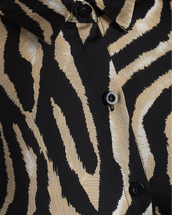 Musthave dress Zebra Beige