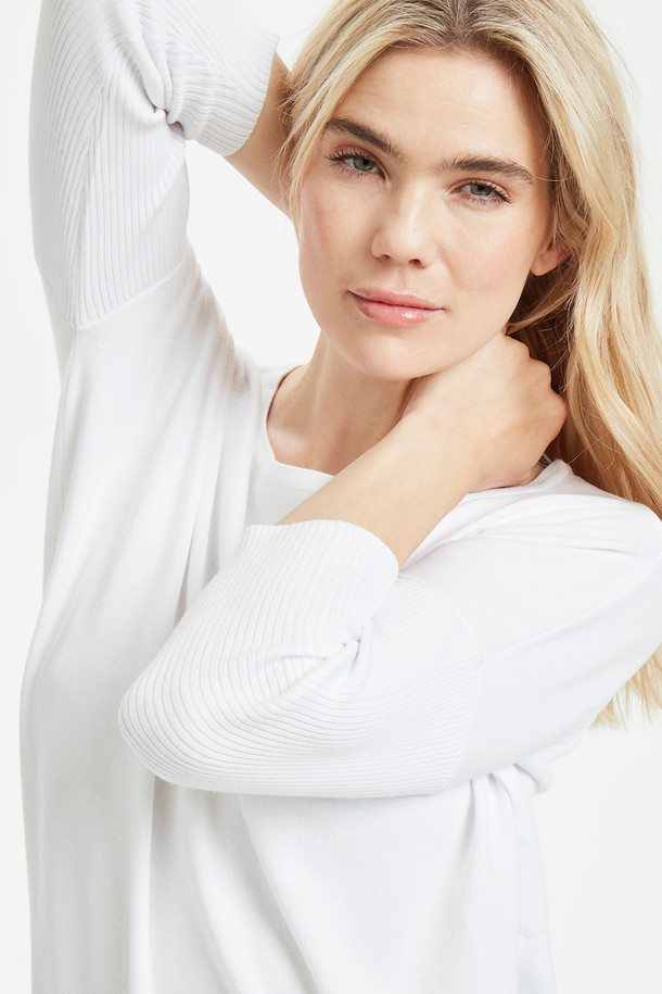 New favorite Viscose top Pure White