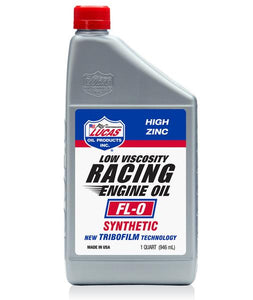 LUCAS SYNTHETIC FL-0 RACING ENGINE OIL # 10892 / 10849