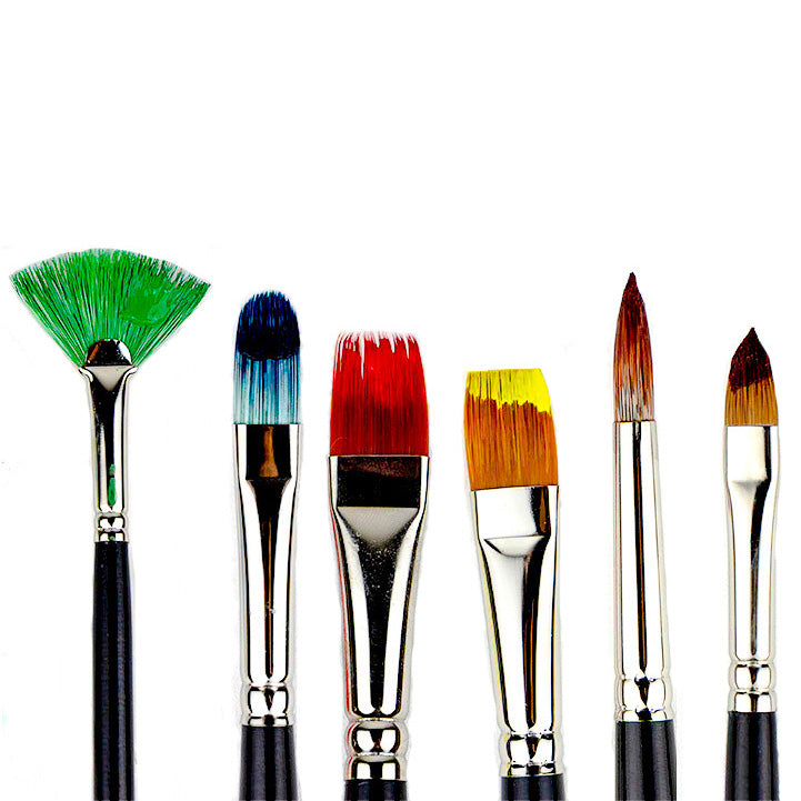 What Are These 6 Paint Brush Shapes Good For? – Trekell ...