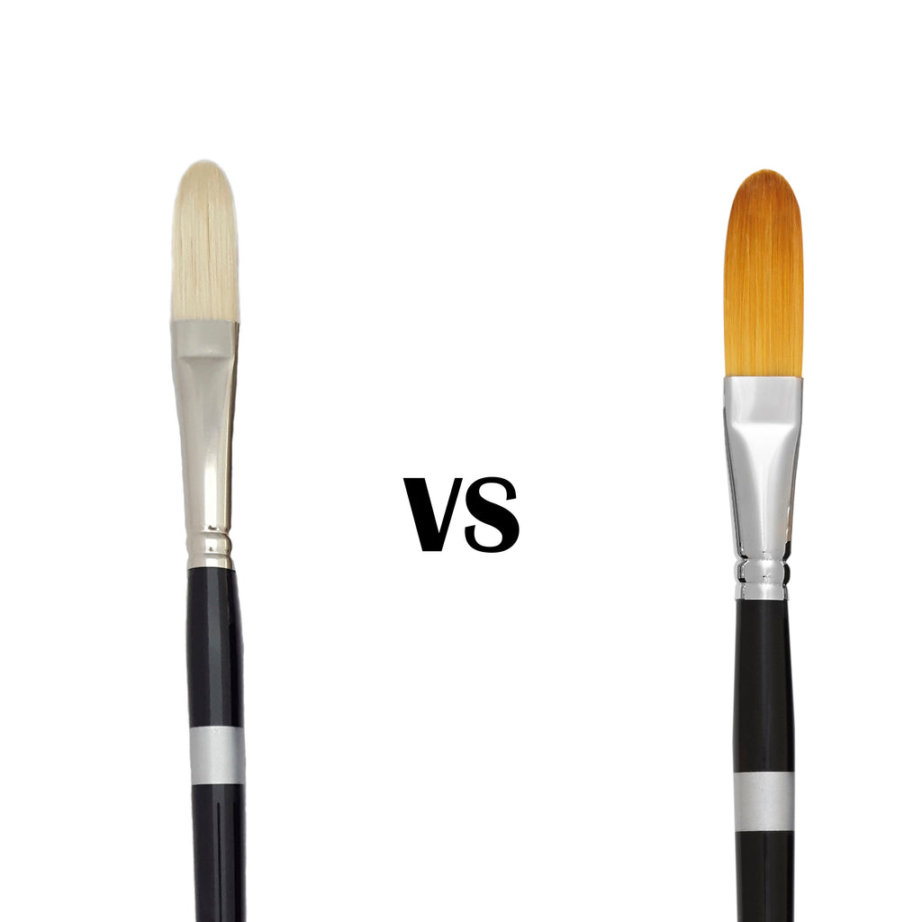 Natural Brushes or Synthetic Brushes:  What's the difference?
