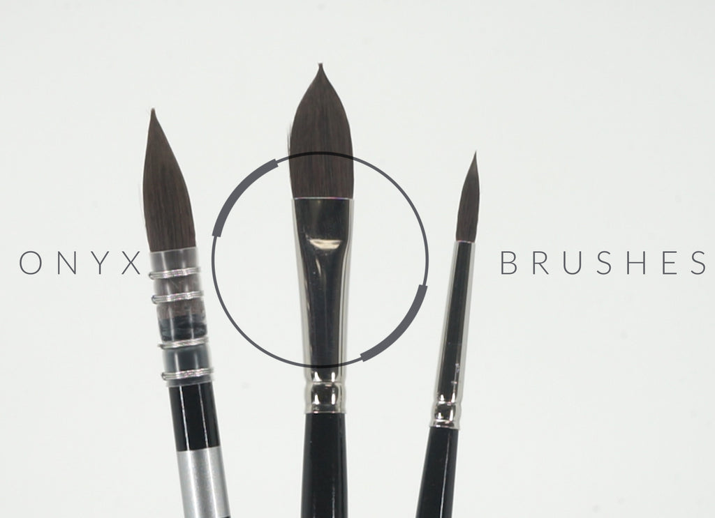 Nick Runge on Trekell's Onyx Watercolor Brushes