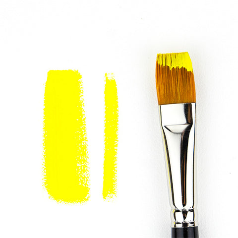 Bright Synthetic Flat Paint Brush
